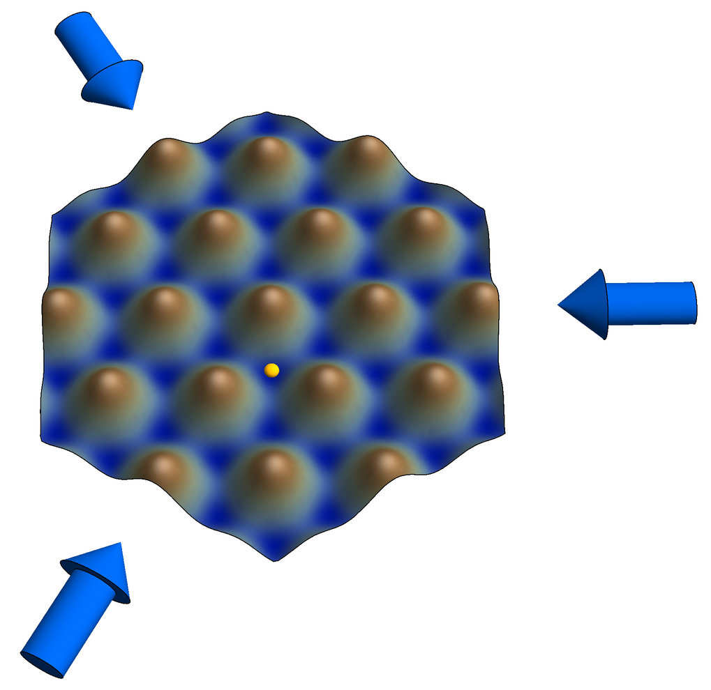 <h3>Ultracold atoms in a honeycomb optical lattice</h3>